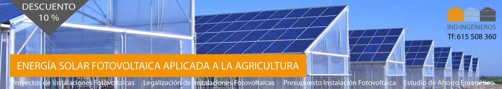 APLICACIONES A LA AGRICULTURA ENERGÍA SOLAR